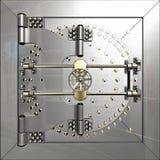 Porta do cofre-forte de banco fotos de stock royalty free