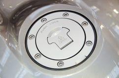 Porta do depósito de gasolina Imagens de Stock