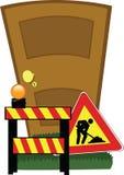Porta do desenvolvimento ilustração stock