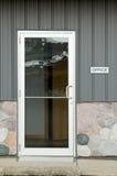 Porta do escritório Foto de Stock