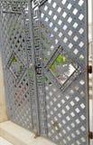 Porta do ferro Fotografia de Stock