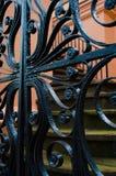 Porta do ferro Imagens de Stock
