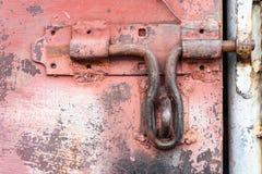 A porta do ferro Foto de Stock