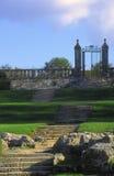 Porta do ferro do castelo Imagens de Stock