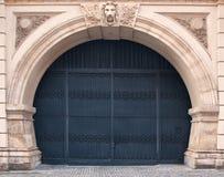 Porta do ferro forjado Imagens de Stock Royalty Free