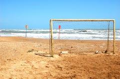 Porta do futebol Imagem de Stock
