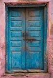 Porta do indiano do vintage fotografia de stock