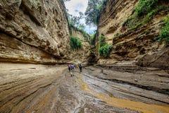 A porta do inferno em Kenya, África Foto de Stock Royalty Free