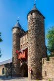 Porta do inferno em Maastricht, Países Baixos imagem de stock