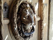 Porta do leão Imagens de Stock