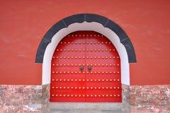 Porta do mausoléu de Ming Xiaoling, Nanjing Imagem de Stock