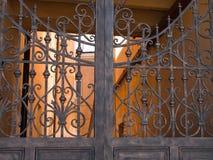 Porta do metal Foto de Stock Royalty Free