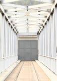 Porta do metal Imagens de Stock Royalty Free