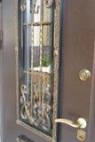 Porta do metal Imagens de Stock