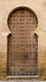 Porta do Moorish imagem de stock