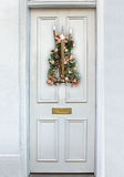 Porta do Natal Fotografia de Stock Royalty Free