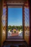 Porta do pagode Imagens de Stock Royalty Free