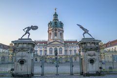Porta do palácio de Schloss charlottenburg Foto de Stock Royalty Free