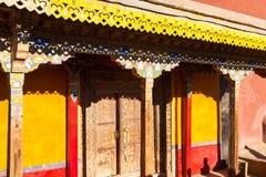 Porta do palácio em ruínas de Guge Foto de Stock