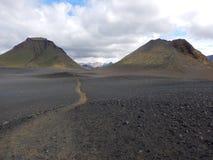A porta do paraíso está em Islândia fotografia de stock