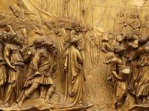 Porta do paraíso, Florença, Italy Foto de Stock