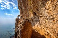 A porta do parque da montanha de Xishan província em Kunming, Yunnan imagem de stock royalty free