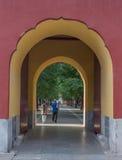 A porta do parque de Zhongshan Fotografia de Stock