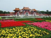 A porta do parque do túmulo de ZhaoLing Foto de Stock