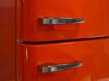 Porta do refrigerador - ascendente próximo Imagem de Stock