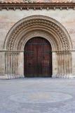 Porta do Romanesque Foto de Stock