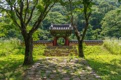 Porta do santuário Imagem de Stock