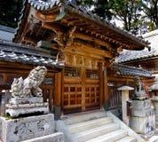 Porta do santuário xintoísmo Foto de Stock