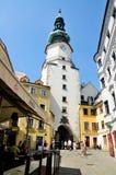 Porta do St. Michaels, Bratislava imagem de stock royalty free