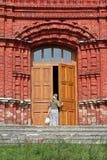 Porta do templo Fotografia de Stock