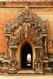 Porta do templo budista Imagem de Stock