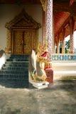 Porta do templo do dragão Foto de Stock Royalty Free