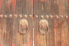 Porta do templo Guk Sa de Bul fotografia de stock royalty free