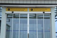 Porta do terminal de Airside Imagens de Stock