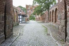 Porta do Tor de Stargarder em Neubrandenburg, Alemanha Foto de Stock Royalty Free