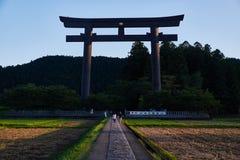 Porta do torii de Oyunohara Fotografia de Stock Royalty Free
