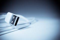 Porta do USB de Apple Imagem de Stock Royalty Free