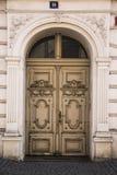 Porta do vintage Fotografia de Stock