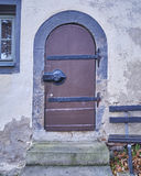 Porta do vintage em Altemburgo, Alemanha Fotografia de Stock
