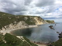 Porta Dorset Regno Unito di Dordle Fotografie Stock Libere da Diritti