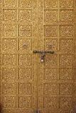 Porta dourada - Índia Fotografia de Stock Royalty Free