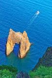Porta dourada Fotos de Stock