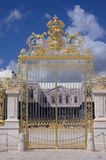 Porta dourada Foto de Stock Royalty Free