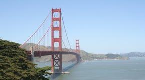 Porta dourada Fotografia de Stock