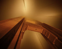 Porta dourada de San Francisco Foto de Stock