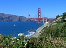 Porta dourada, San Francisco imagem de stock